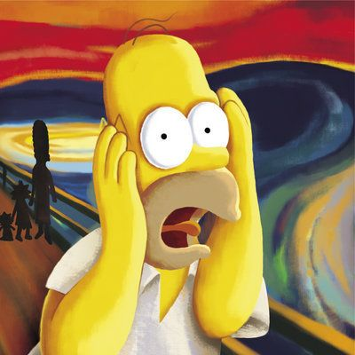 Avatar of David, Homer Simpson screaming